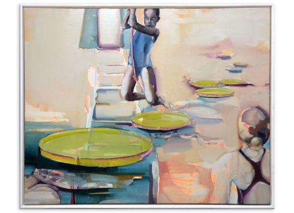 Ölgemälde auf Leinwand Peggy Berger
