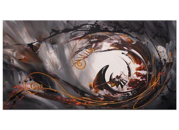 abstrakte Acrylbilder Ikarus Gemälde