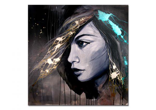 Abstraktes Portrait kaufen