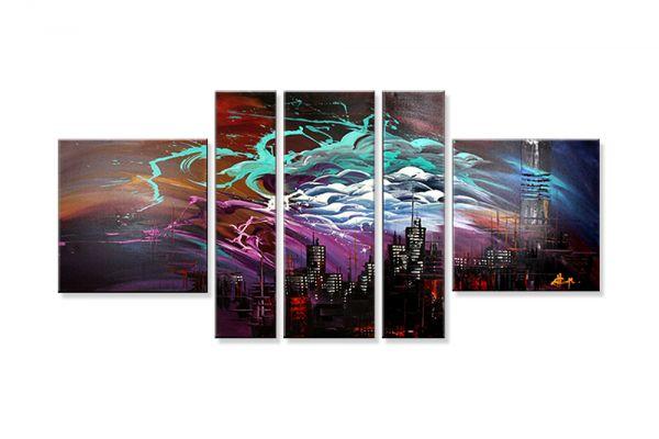 """Abstrakte Bilder auf Leinwand kaufen, Dieu: """"Shadow Dream"""""""