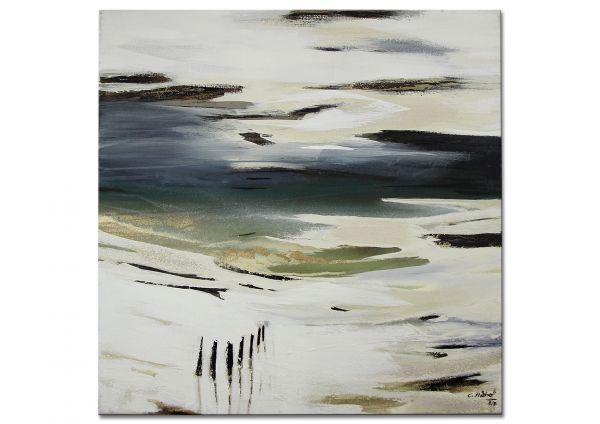 moderne Malerei Strand Nordsee