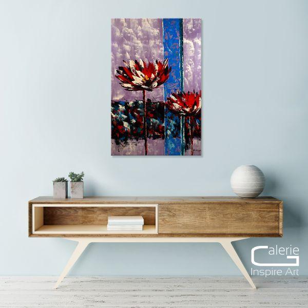 """Dehiscense"" abstraktes Kunstwerk- stilvolles Gemälde"