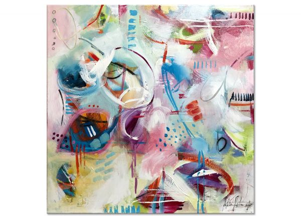 acryl bilder abstrakt