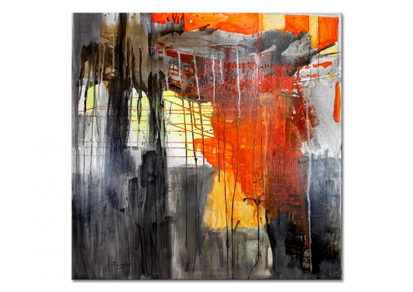 "Modern Art on Canvas, Irene Ganske: ""Blick ins Herbst"""