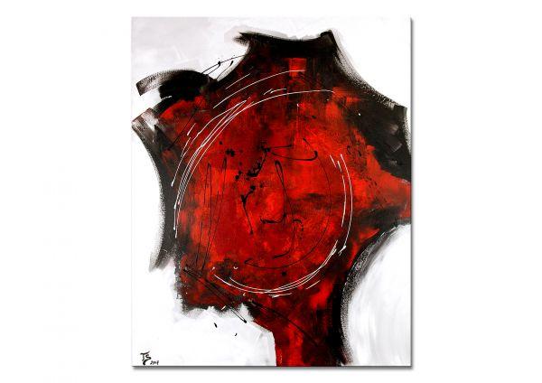 "Gemälde moderne Kunst, Th.Stephan: ""Erlösung"""