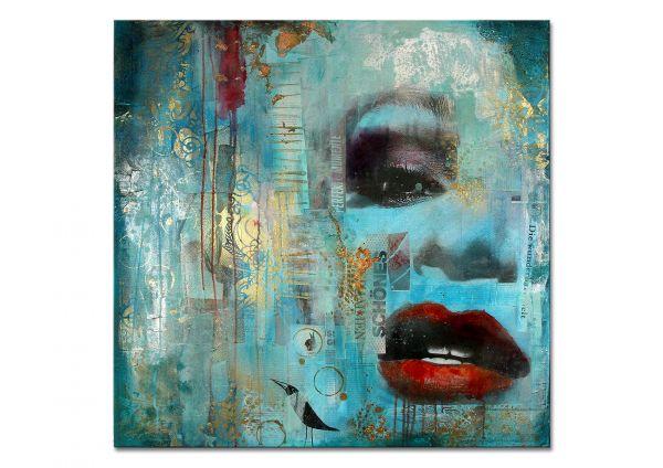 """Zeitgenössische Kunst, Lydia Schade: """"Beauty"""", Collage"""
