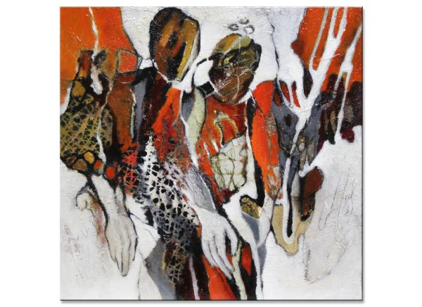 Auf neuen Wegen Schmalfeldt kunst malerei