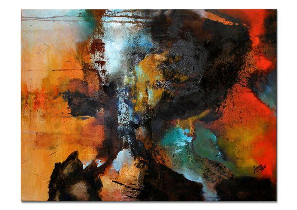 abstrakte Gemälde Agnes Lang