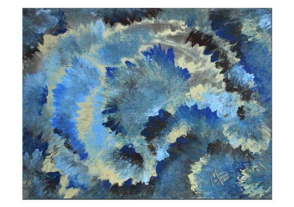 Gemälde Eisblume