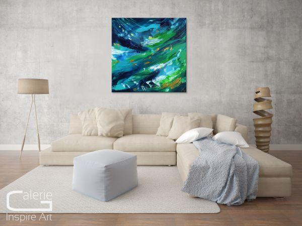 Kunst Aqua Splash Losaij grüne Bilder