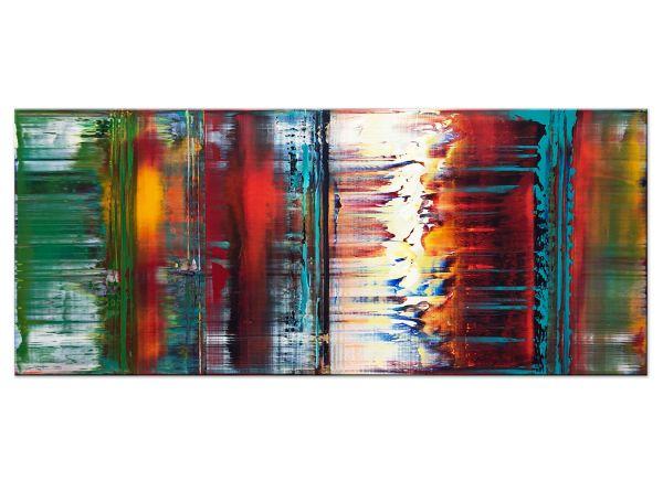 Befangen abstrakte Acryl Gemälde Bilder modern Art