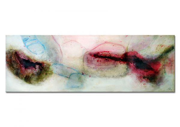 """Abstrakte Malerei, Manuela Pilz: """"Zarte Leidenschaft II"""""""