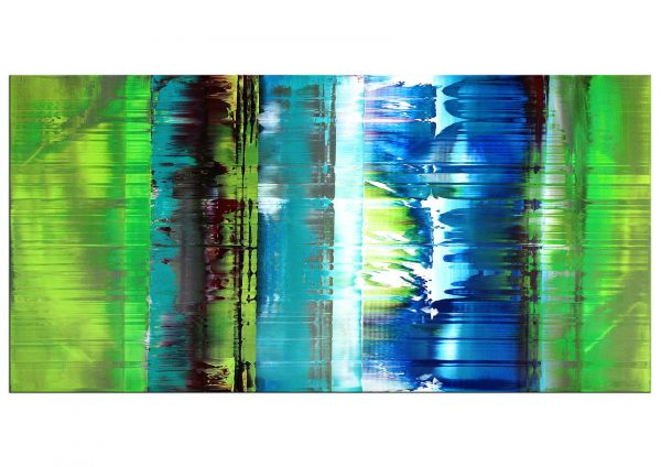 """Nordic Shine"" abstrakte Gegenwartskunst in Acryl (RI)"