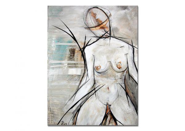 """Bildende Kunst, Aktgemälde von Th.Stephan: """"Project Aurora"""""""
