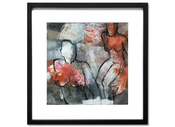 Feminin Gabriele Schmalfeldt kunst malerei