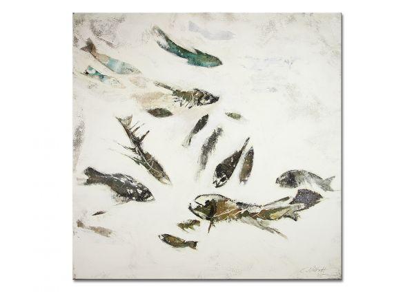 Malerei modern Fische