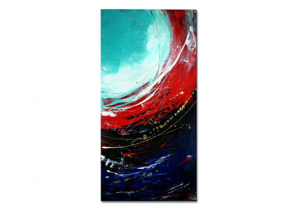 """Curacao II"" - abstraktes Kunstwerk in Acryl - moderne Kunst"