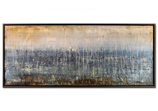 """Abstrakte Kunst, Expressionismus """"Meeresrauschen"""""""