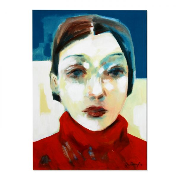 Portrait Gemälde Kunst
