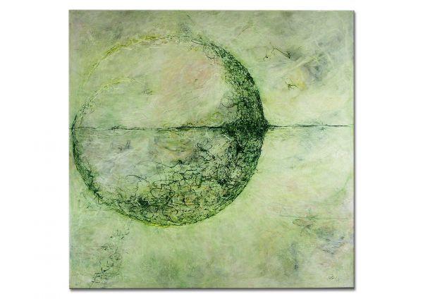 """Zeitgenössische Kunst abstrakt, Manuela Pilz: """"Mondschatten"""""""