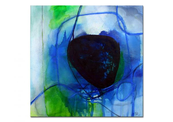 """Gemälde online, Manuela Pilz: """"Blaue Traumwelten II"""""""