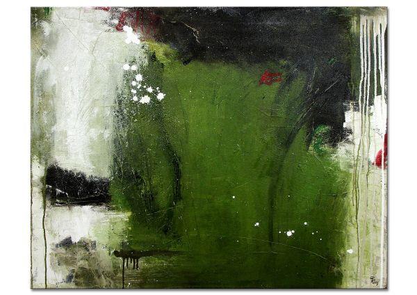 """Abstraktes Unikatgemälde: """"Amazonas"""""""