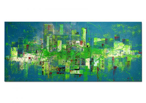 """Moderne Originalkunst, Lydia Schade: """"Green Day"""""""