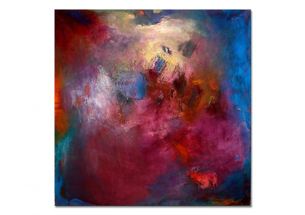 """""""Zeit der Stille"""" - abstraktes Wandbild - zeitgenössische Kunst"""
