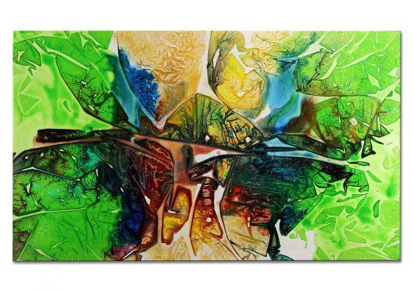 abstrakt modern gemalt