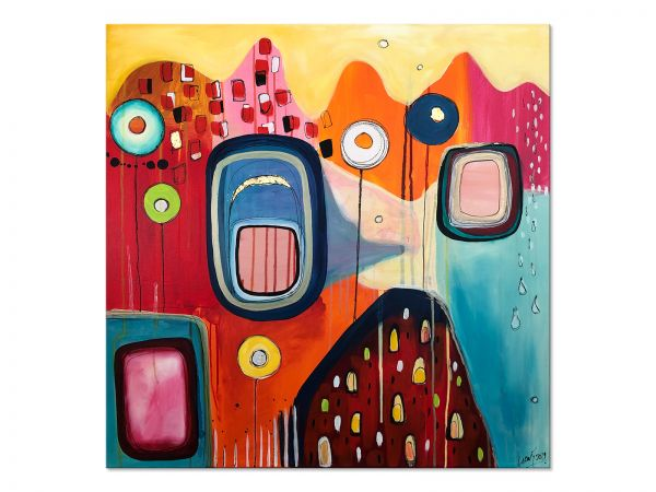 abstrakte Gegenwartskunst