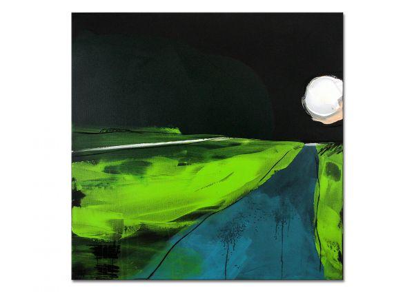 """Wandbilder kaufen, abstraktes Original, Kunst von C.Wachsmann: """"Irgendwie"""""""
