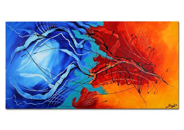 """Etienne Donnay: """"Redemption"""" abstrakt modernes Bild (Original)"""