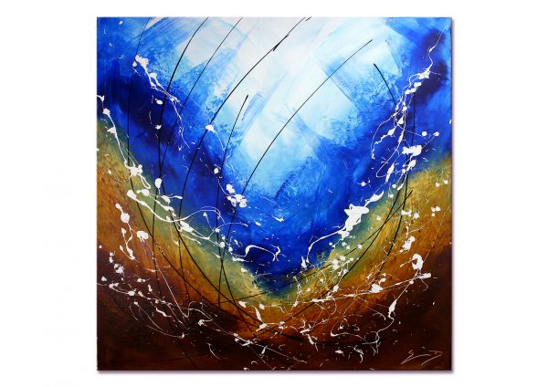 """Inspiration"" - modernes Kunstwerk - Wandbild in Acryl"