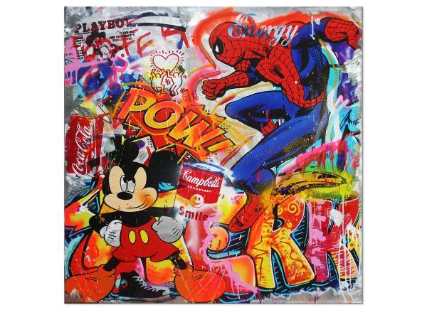 Peter-Wolframm-Pop-Art-ENERGY-PART-1-100x100cm