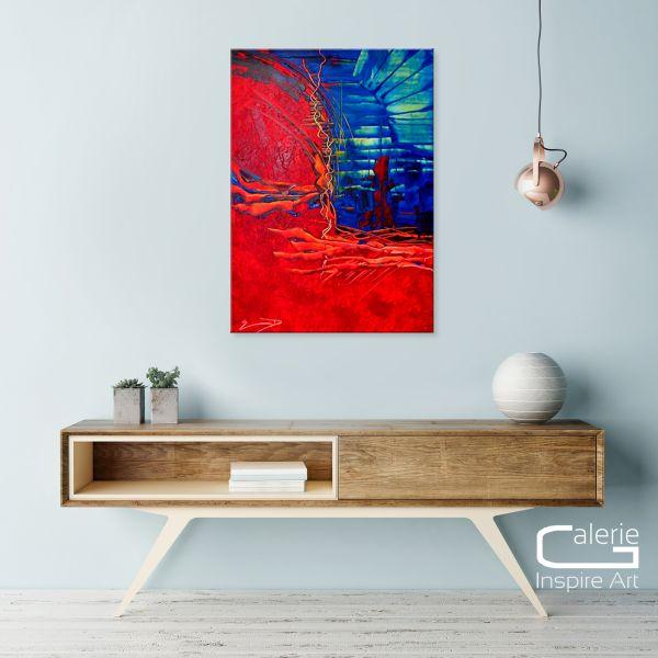 "Abstrakte Kunst ""La Garita"" - Malerei modern Art"