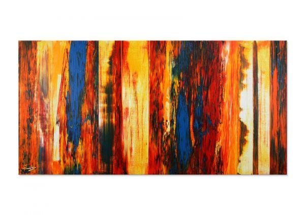 """Abstrakte Bilder auf Leinwand kaufen, Etienne Donnay: """"Eruption"""""""