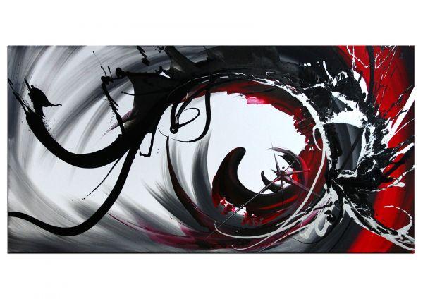 "Malerei abstrakt: ""Ursprung I"" Acrylgemälde modern"