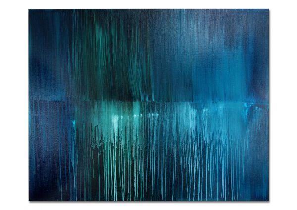blaues Gemälde Galerie