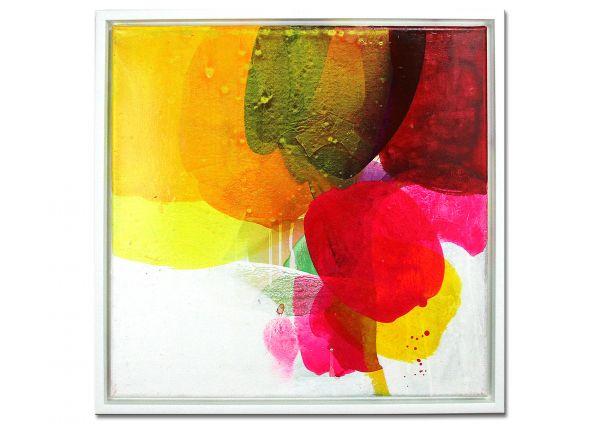 """Kunst Werke, florales Galeriebild, Wittkowski: """"Weltengarten 17"""""""