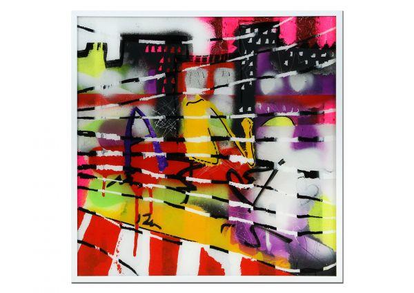 "U.Rendle: ""Graffitiart I"" Street Art Gemälde"