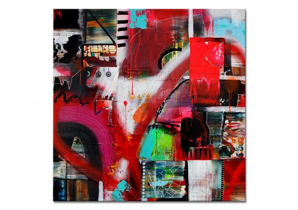 """Modernes Galeriewerk, U.Rendle: """"Barfuß auf Wolken"""""""