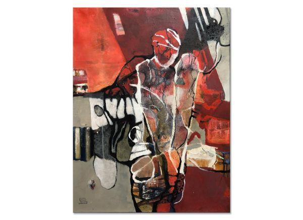 Gabriele Schmalfeld abstrakte Figuration Kunst
