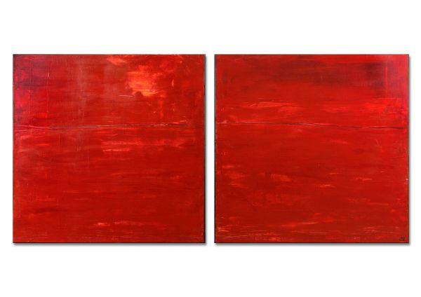 """Galeriekunst von Conny Wachsmann: """"Das rote Meer"""""""