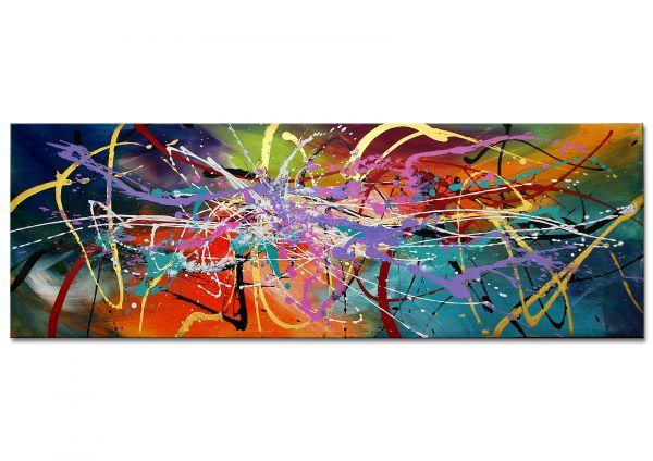 """Panorama Gemälde, abstrakte Malerei: """"Cabriano"""""""