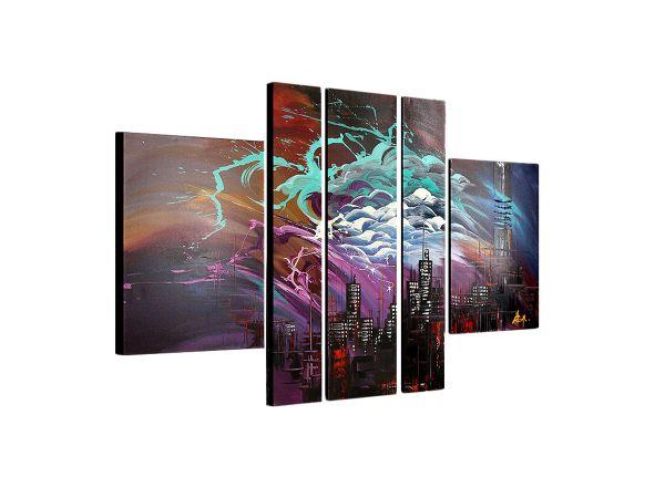 Gemälde mehrteilig Triptychon