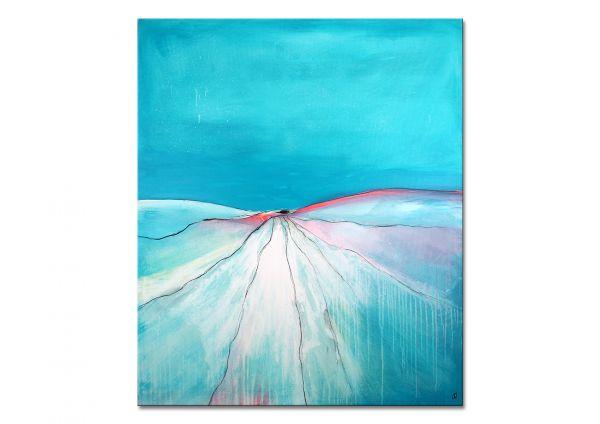 Gemälde in blau