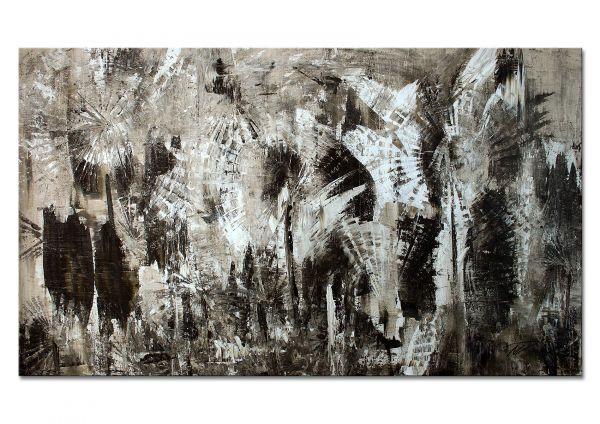 """""""Pusteblumen"""" - abstraktes Wandbild - zeitgenössische Kunst"""