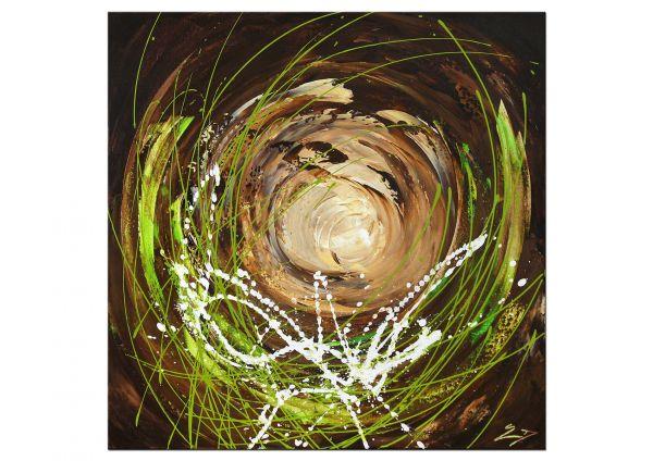"""Impulsive"" modernes Gemälde, abstrakte Kunst Bilder"