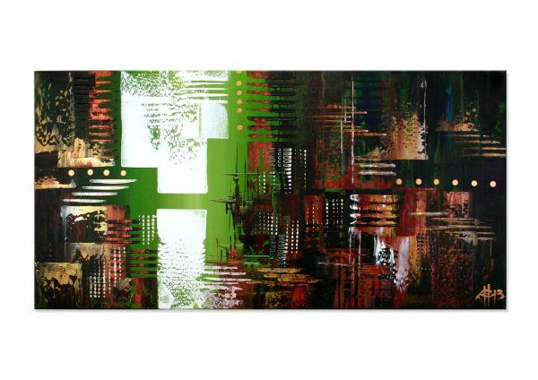 """""""Auf der Suche"""" - modernes Kunstwerk - Gemälde in Acryl"""