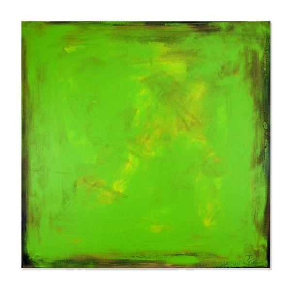 grünes Bild Kunst